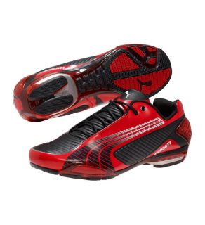 125 Mens Puma Testastretta 3 Ducati Trainers Shoes All Sizes RdRed