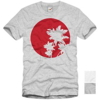 Sun T Shirt Street Wear Herren Sommer Designer Shirt Trend Motiv