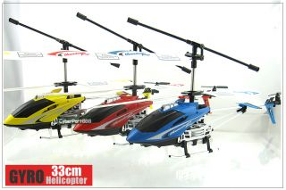 33cm GYRO Metal 3 Channel 3ch RC Helicopter R102 +Parts