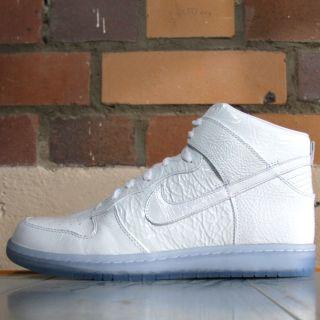 Nike Dunk High Premium Weiß (White PACK) 408174 103