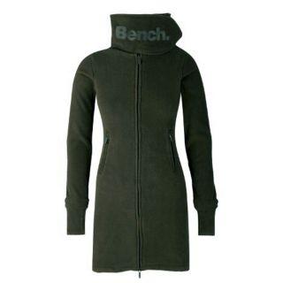 Bench Long Funnel Neck Fleece Jacke Damen GR107 (olive) 2012 Gr. L UVP