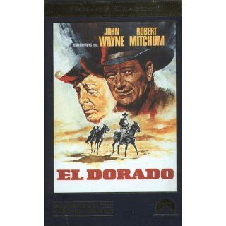 El Dorado [VHS] John Wayne, Robert Mitchum, James Caan, Harry Brown
