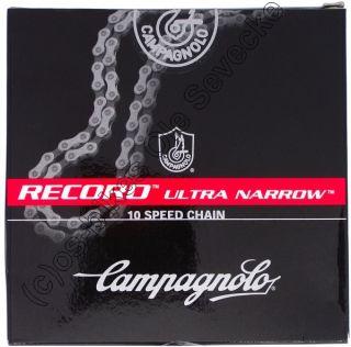 Campagnolo Record 10 fach Kette, 114 Glieder Länge, CN6 REX