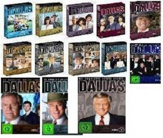 DVD Set Dallas Staffel 1+2+3+4+5+6+7+8+9+10+11+12+13+14