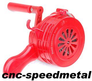 Sirene Luftschutz Feuerwehr ABS Kunststoff 110 dB(A) Farbe rot