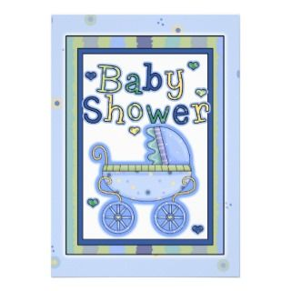 Sweet Baby Boy Shower Invitation invitation