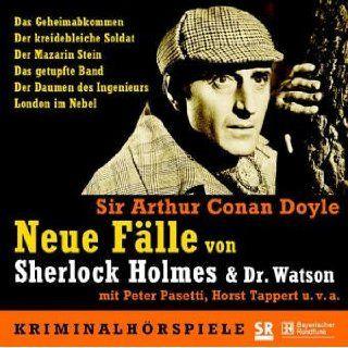 Neue Fälle von Sherlock Holmes & Dr. Watson   5 CDs: Das