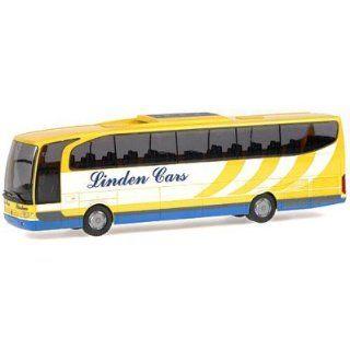 Rietze 63844   MERCEDES BENZ Travego Linden Cars, Rotselaar (B
