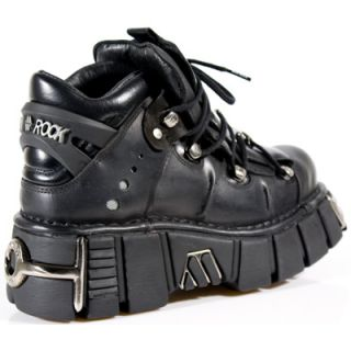 New Rock Schuhe Gothic Cyber Boots Plateau Leder NEU