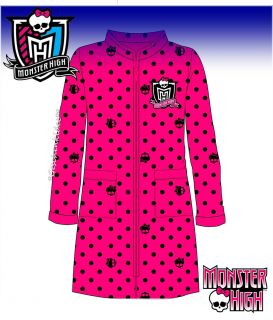 MONSTER HIGH KINDER BADEMANTEL 116☆128☆140☆152☆164☆176