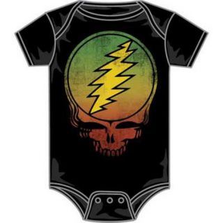 Infant Grateful Dead   SYF Logo Bodysuit Shirt
