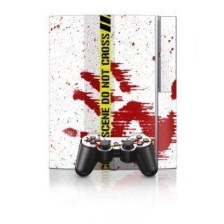 Playstation 3   Skin Set   Crime Scene Revisited Games