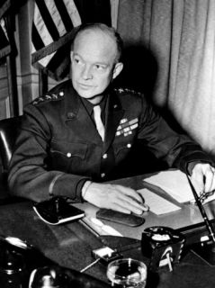 General Dwight D. Eisenhower, January 18 1944 Photo