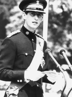 Prince Charles in Uniform of the Newly Formed Royal Regiment of Wales Photographic Print