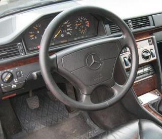 LENKRAD Lederlenkrad HOLZ OPTIK MERCEDES W124 W140 W210 W202 Sportline
