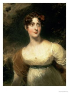 Portrait of Lady Emily Harriet Wellesley Pole, Later Lady Raglan Giclee Print by Thomas Lawrence