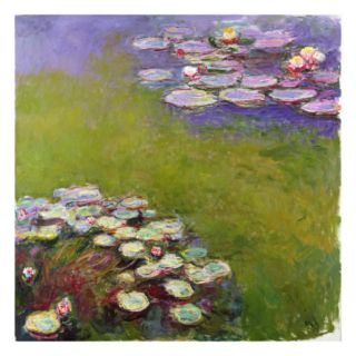 Waterlilies, 1914 17 (See Detail 414409) (Oil on Canvas) Giclee Print by Claude Monet