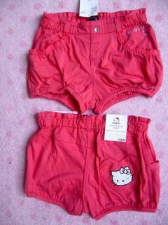 Hello Kitty Shorts H&M rosa Gr. 110 116 128 Neu