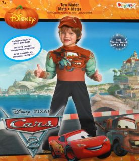 Kinder Kostüm CARS TOW MATER 122 140 Kids Child Costume USA