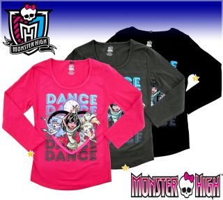 MONSTER HIGH LANGARM SHIRT 128☆134☆140☆146☆152☆158