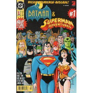 Batman & Superman Adventures # 1   Dino Comics 1997 (Batman & Superman