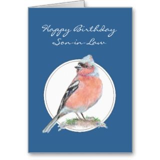 , Note Cards and Happy Birthday Son In Law Greeting Card Templates