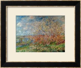 Spring, 1880 82 Framed Giclee Print by Claude Monet