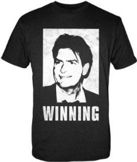 Charlie Sheen T Shirt Winning, Gr. XL Bekleidung