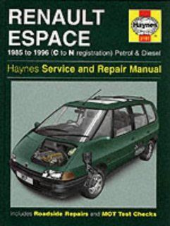 Renault Espace Service and Repair Manual (Haynes Service and Repair