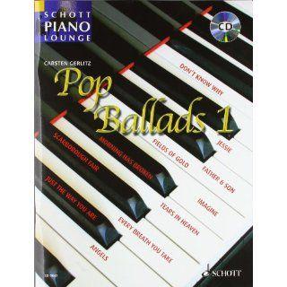 Pop Ballads 16 bekannte Pop Balladen. Band 1. Klavier. Ausgabe mit CD