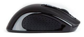 Revoltec Laser Funk USB Mini Maus schwarz 1600dpi RE139 4260048814878