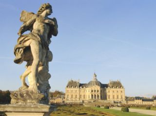 Chateau of Vaux Le Vicomte, Ile De France, France, ope Photographic Print by Guy Thouvenin