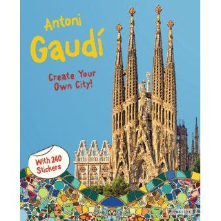 Antoni Gaudí (Sticker Book) Prestel Publishing Englische