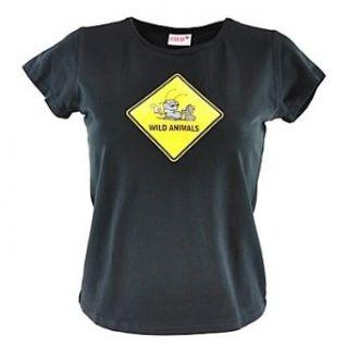 Nici T Snax Shirt WILD ANIMALS black Bekleidung