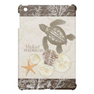 IPad Mini   Sea Turtle Star Fish Sand Dollar Shell iPad Mini Cover