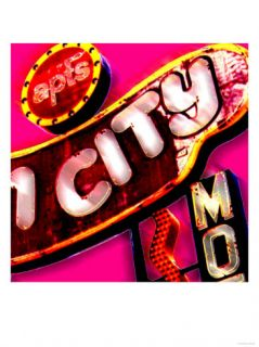 Fun City, Las Vegas Posters by Tosh