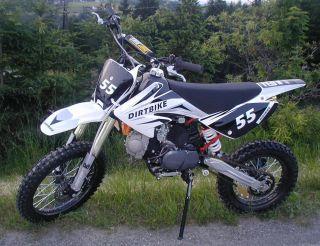 TDR 140cc Cross Bike Dirt Motocross Pit 4 Takt Motor 14 17 Enduro