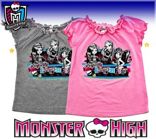 MONSTER HIGH T SHIRT TOP 128☆134☆140☆146☆152 CLAWDEEN WOLF