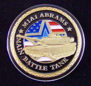 US ARMY M1 A1 ABRAMS BATTLE TANK   FARBE   PANZER