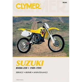 Suzuki Rm80 250, 1989 1995: Service, Repair, Maintenance: Clymer