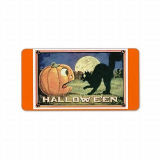 Candy Bag/Food Halloween Custom Address Label