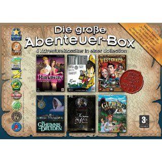 Die große Abenteuer Box (DVD ROM) Games