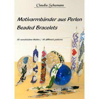 Motivarmbänder aus Perlen /Beaded Bracelets 16 verschiedene Motive