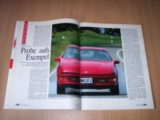 Nachfolger! Ford Probe GT Turbo mit 147 PS im ersten Test auf