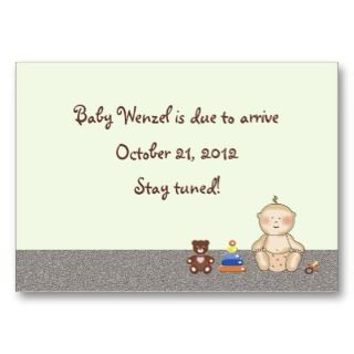 Baby Carriage Tot Business Cards