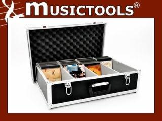 CD Koffer passend für 144 CDs komplett mit Jewel Box, Case Deckel