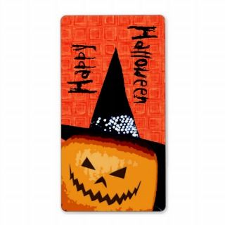 Halloween Pumpkin Treat Bag Labels