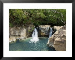 Waterfall on the Colorado River, Near Rincon De La Vieja National Park, Costa Rica Prints by R H Productions
