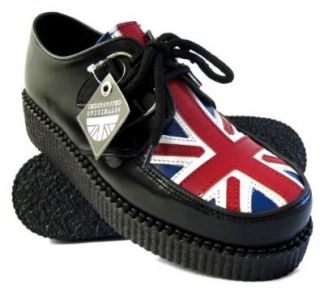 Underground Creepers Union Jack Rockabilly Punk: Schuhe
