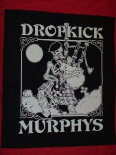 DROPKICK MURPHYS ,ek 155,Back Patch Punk,HC,Oi